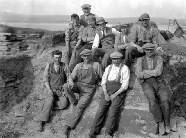 Childe y obreros